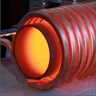 钢管内搪重熔中频加热设备