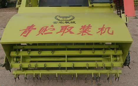 自动式青贮取料机