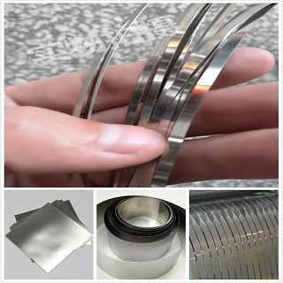 304超薄不锈钢带 0.02mm 0.05mm不锈钢薄片