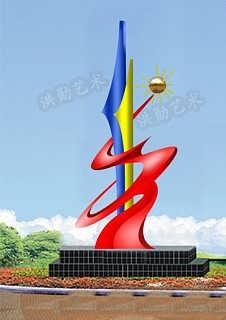 安康园林景观雕塑A安康不锈钢雕塑-衡水洪勋艺术钢构有限公司销售部