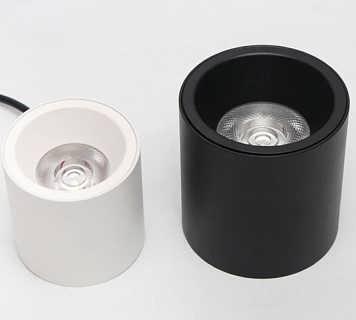 高端3寸COB明装筒灯厂家直销