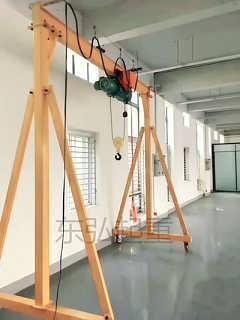 小型龙门架订制-电动手推龙门架篇-保定东弘起重机械制造有限公司