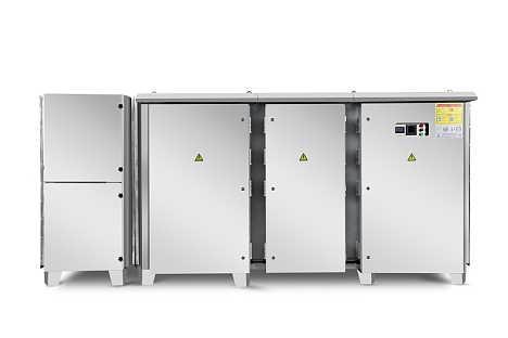 设计定制喷漆房大风量废气处理设备