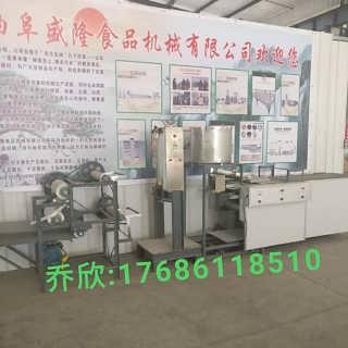 每小时60斤豆腐皮机报价商家盛隆微型智能豆制品机器-曲阜市盛隆机械有限公司