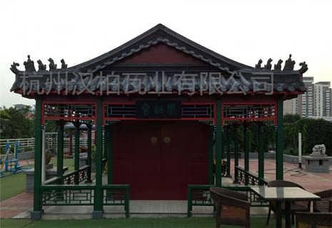 山东青岛仿古瓦厂家全国项目案例分享