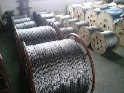 热镀锌防扭钢丝绳配件_热镀锌防扭钢丝绳配件价格-霸州市康仙庄华忠线路工具厂