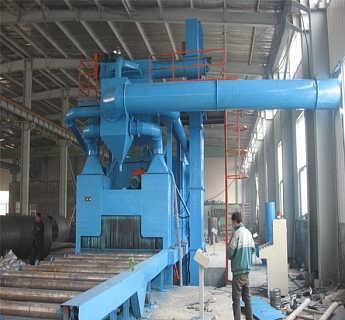 新疆铝轮毂抛丸机 厂家现货直销-青岛华旭环保科技有限公司