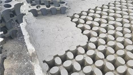河南高承载植草地坪模具厂家直供 江苏撰石景观