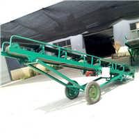 双翼皮带输送机 12米长装卸传送带78-曲阜六九重工机械制造有限公司
