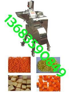 西瓜切丁机 新式切洋葱丁机 切萝卜丁机厂家
