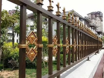 阳台护栏定制 庭院护栏 铝艺围栏护栏定制