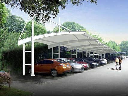 膜结构停车棚建造厂家
