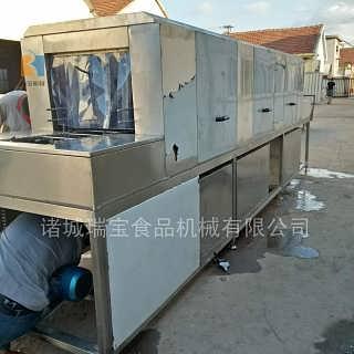 加热洗筐机      消毒杀菌洗筐机-诸城瑞宝食品机械有限公司