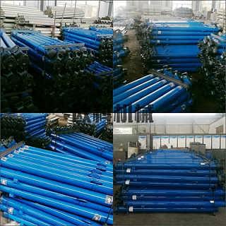 欧科单体液压支柱 矿用单体液压支柱 DW卸料单体液压支柱