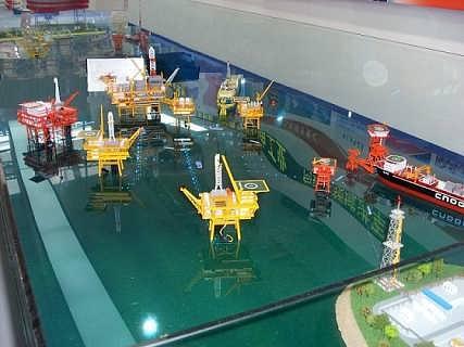 海上采油及集输工艺仿真模拟实训装置