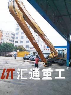 东莞挖掘机小松打桩臂PC50、18米打桩臂哪家专业-广州市汇通机械有限公司-销售二部