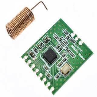 CC1101智能工业无线射频通讯模块SPI收发模块 868MHz小体积贴片型-信阳宝惠电子有限公司