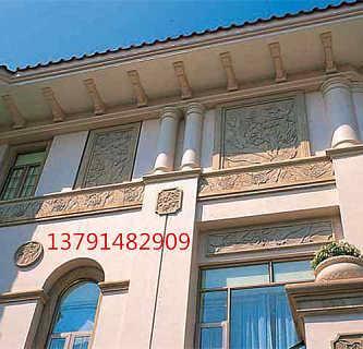 商丘外墙GRC装饰构件成品GRC线条GRC制品厂家商丘盛莱
