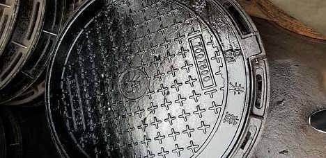 大足沟盖板 球墨铸铁水篦子 电缆井盖板