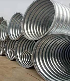 山东金属波纹管涵  钢波纹涵管型号-河北中泰信公路工程有限公司
