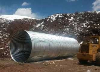 波纹管涵,钢波纹涵管,金属波纹涵管-衡水贝尔克金属制品有限公司