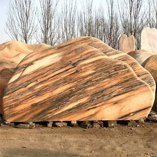武汉三峡红景观石-明石景观石基地-现货三峡石-武汉明石石业有限公司