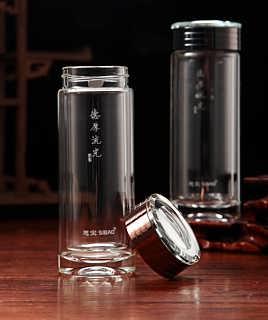 流光德厚 西安水晶杯 思宝水晶玻璃杯礼盒装