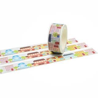 来图定制小清新风格普通印刷彩色手帐胶带-东莞市宝仕锐莱胶粘有限公司
