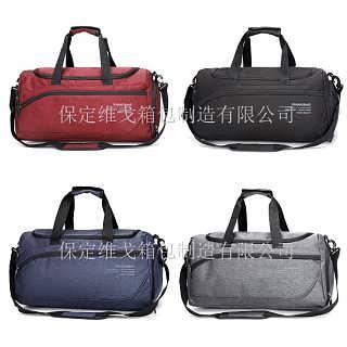 定制健身包 包袋工厂 单肩行李包 大容量运动包 带鞋仓健身包