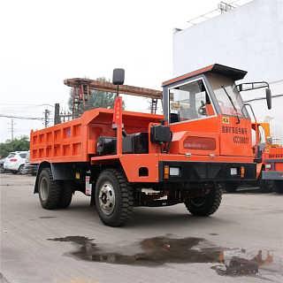 黄山断气刹矿用运输车加高车厢拉20吨矿渣