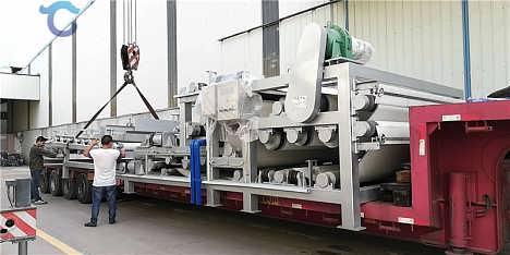 污水压滤机 污泥压滤机 板框压滤机 生产厂家-青州市华工环保科技有限公司-绞吸式挖泥船