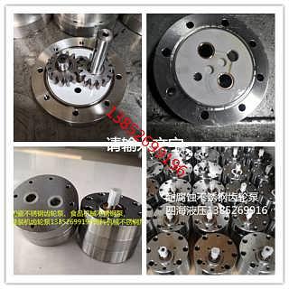 CB-BNS耐酸碱陶瓷不锈钢齿轮泵-泰兴市四海液压机械厂