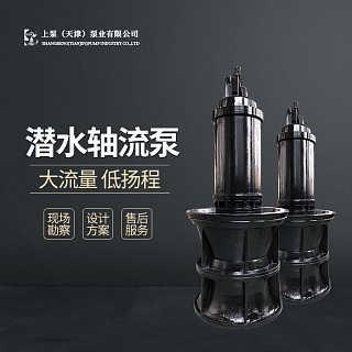荆门市350QZB-75潜水轴流泵选型-上泵(天津)泵业万博体育app-销售部