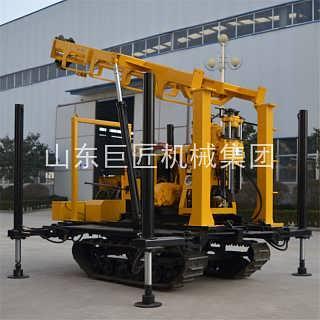 销售XYD-130型全液压履带钻机百米水井功能齐全效率高-济宁巨匠机械研究院五组