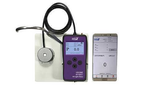 林上厂家提供UVC光源专用的紫外线强度检测仪