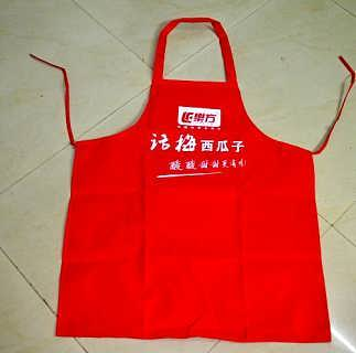 制作西安防水围裙、广告促销围裙、彩印围裙印logo