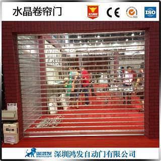 广州电动水晶卷帘门厂家