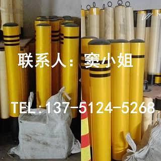 黄黑钢管优质防撞柱反光警示现货热销25元