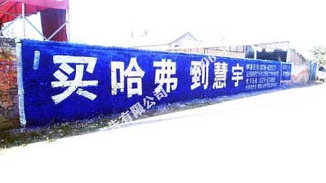 河北墙体广告河北墙面喷字广告价位让实惠成真-四川亿达和创广告装饰有限公司