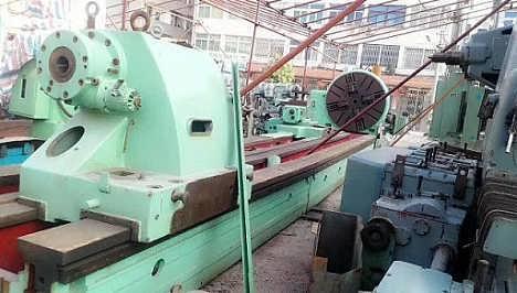 斯柯达8米重型轧辊车床