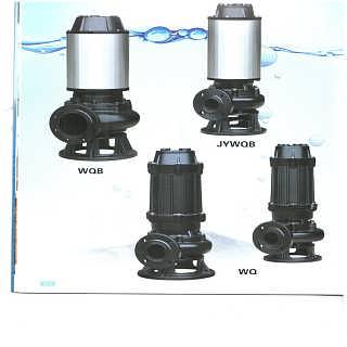 WQP型不锈钢潜水排污泵-天津潜水泵东坡有限公司