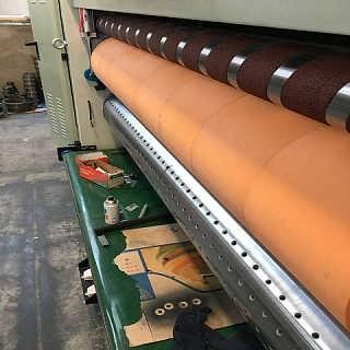 纸箱机械圆压圆模切机四联模切机 专用迪派优力胶垫-沧州昌硕机械配件有限公司