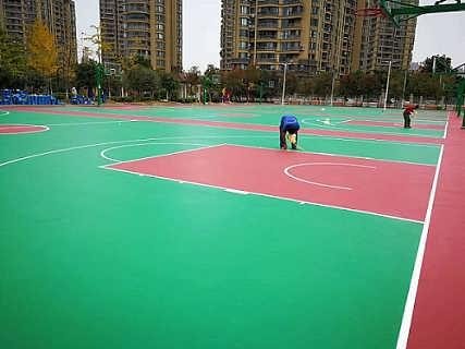 潮州网球场翻新-就找轩彩体育
