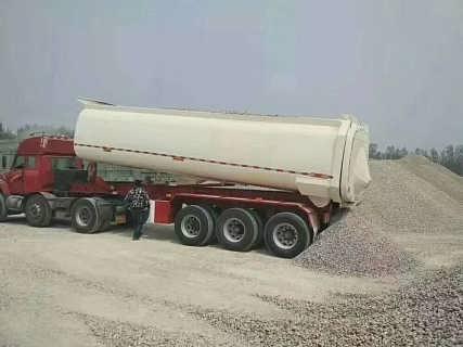 后翻自卸半挂车 U型环保自卸半挂车 罐式自卸运输车