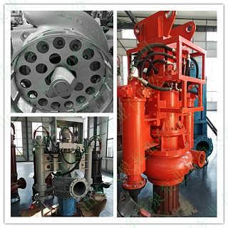 挖掘机抽泥泵 液压渣浆泵 挖机排污泵