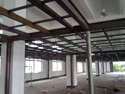 新乐钢结构房屋搭建