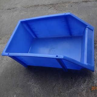佛山纺织印染箱车间服装塑料中转箱加工定制储物塑胶箱专业生产