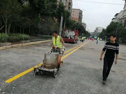 重庆杨家车库划线规范,重庆杨家热熔划线
