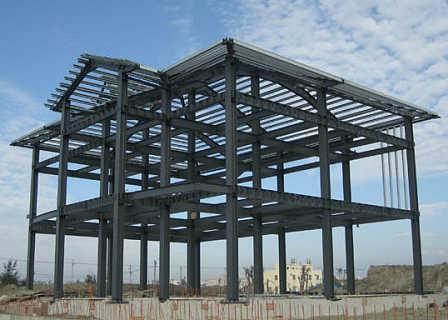 鹿泉钢结构房屋搭建