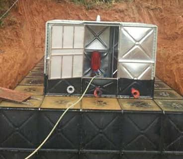 阜阳地埋式消防水池箱泵一体化